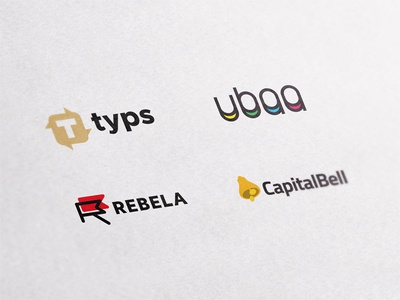 BB Logos wordmark monogram minimal mark logotype logo identity flat graphic domains branding brand
