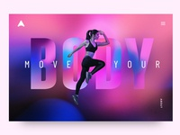 AB Fitness Landing Page