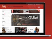 Mikes Cigars eCommerce Re-Redesign