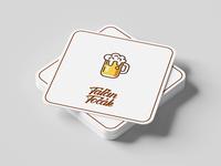 Minimalist Beer Coaster