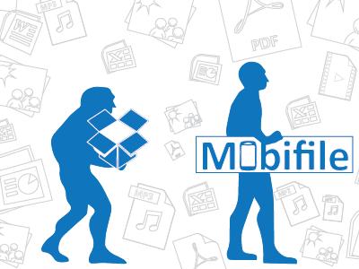 Mobifile Article Creative illustration creative
