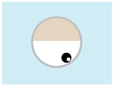 Eye expressions illustration eye