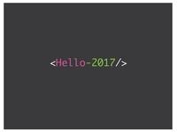 <Hello-2017/>