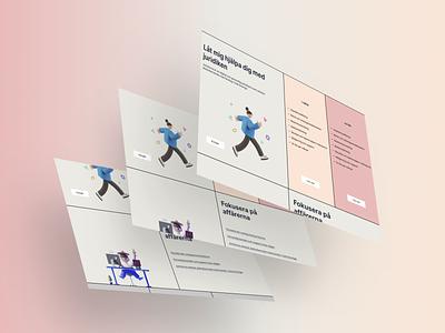 Law firm concept ui webdesign mockup