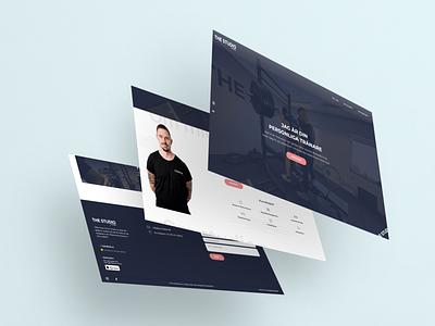 Website for Strength Coach development webdesign