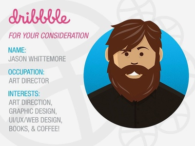Dribbble – For Your Consideration