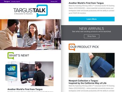 Targus Talk – Responsive HTML Email Newsletter