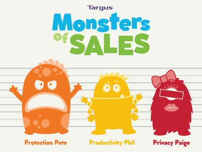Targus – Monsters of Sales Line-Up
