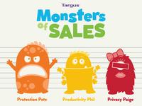 Targus – Monsters of Sales Line-Up
