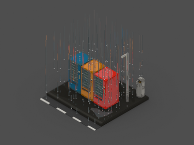 Voxel experiment | Vending machines