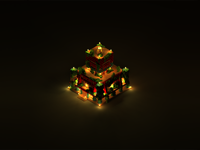 Voxel experiment | The Temple