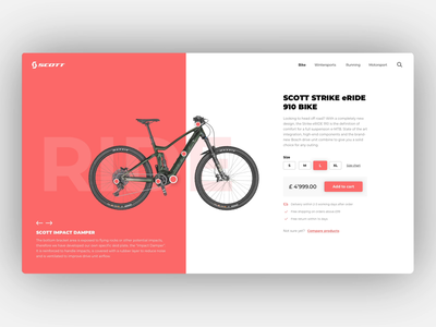 SCOTT - Product Page