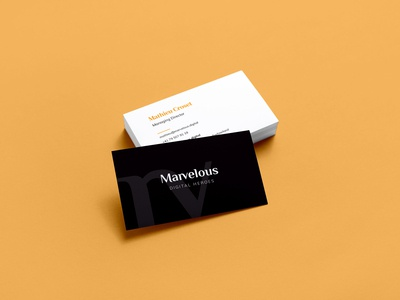 Marvelous | Business Cards