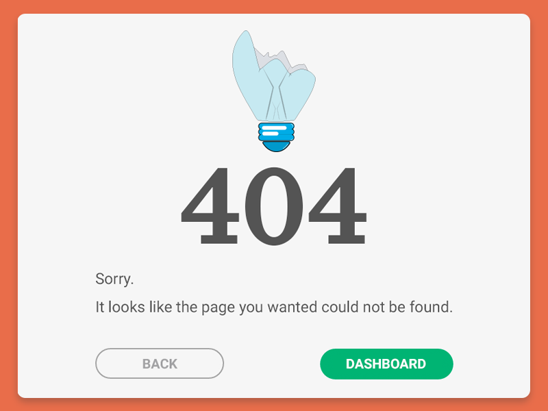 404 page template simple ux ui design page not found error 404