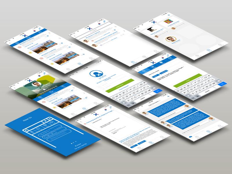 NHSx iOS Screens native templates design user experience ux ui ios mobile iphone