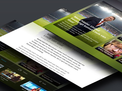 Local news app media interface peperzaken app news ux tablet ui design ipad