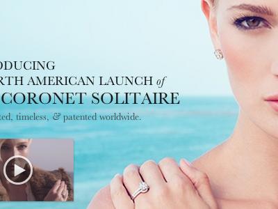 Coronet Solitaire Hero hero girl diamonds video baskerville