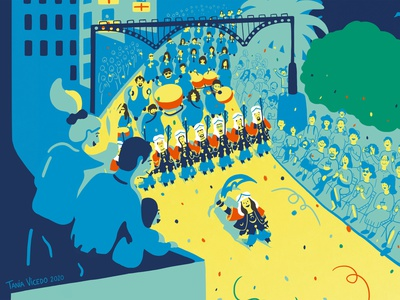 Moros i Cristians spain festival graphic book illustration design illustration
