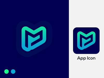 M Logo letter mark, App logo creative minimal simple app logo logo concept logo art logo colorful gradient alphabet letter logo trend branding logodesign monogram logo modern letter mark m logo