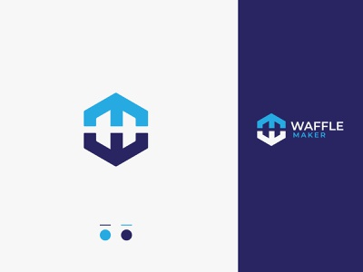 W M Logo Mark. Modern WM letter art logo art unique logo concept branding vector ui w m logo minimal modern logotype lettering illustrator illustration icon logo mark logo design logo