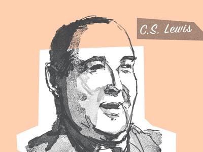 C.S. Lewis Portrait