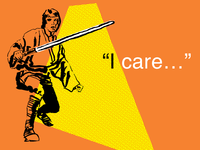 Luke cares