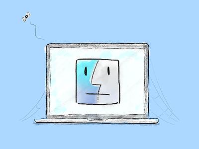 Sad Mac illustration