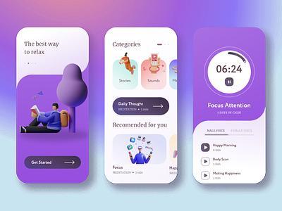 Resty App app ux ui design