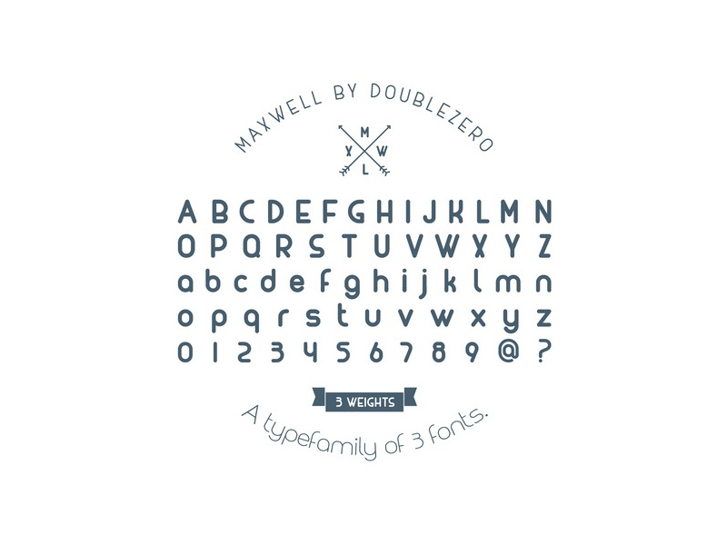 FREE Maxwell Font free font font family script font face typeface font