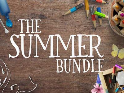 Check out the Summer Design Bundle at 95% OFF! illustrations crafter graphic design design bundle font bundle typeface font