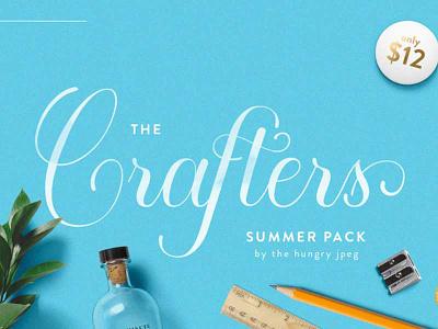 The Crafters Summer Pack!  monograms design bundle craft bundle crafter