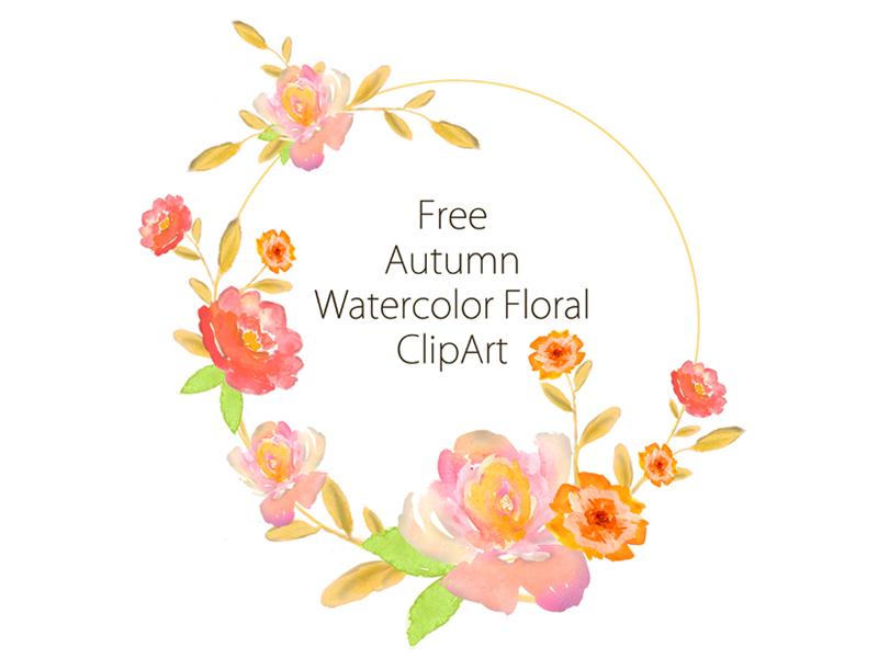 Free Autumn Watercolor Clipart graphic design design autumn watercolor clipart