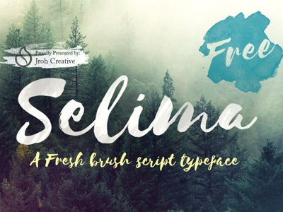 The FREE Selima Font
