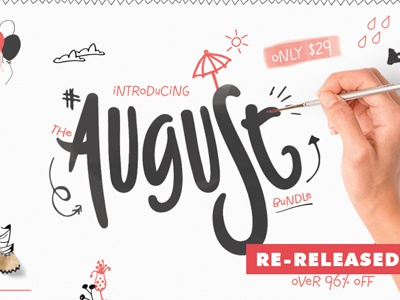 The re-released August Bundle
