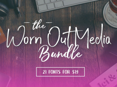 The Worn Out Media Bundle