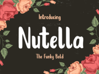 Nutella Funky Font