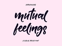 FREE Mutual Feelings Font
