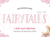 Fairy Tales - A Kids Font Collection