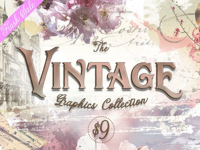 The Vintage Graphics Collection shabby designs graphics graphic designs vintage
