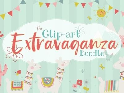The Clip Art Extravaganza clipart graphic designs design illustration
