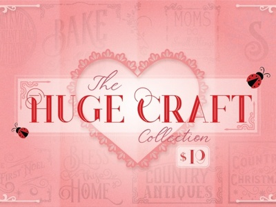 The Huge Craft Collection cutfiles graphicdesigns designs svgfiles crafting craft