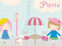FREE Paris Clipart by TheHungryJpeg.com