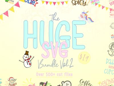 The Huge SVG Bundle Vol 2