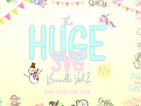 The Huge SVG Bundle Vol 2
