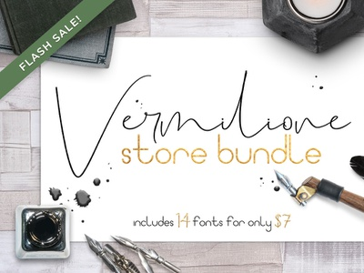 FSF Vermilione Storebundle sale fonts collection sans serif font sans-serif serif sanserif sans fonts