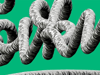 vector brush 2 … another one industrial pipe type script lettering custom brush illustrator vector
