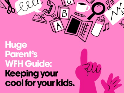WFHWK 👨👩👦 tutorial guide hands kids procreate sketch doodle illo design illustration