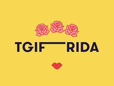 TGIFrida tgif frida kahlo frida design type feminism feminist whm womens history month women