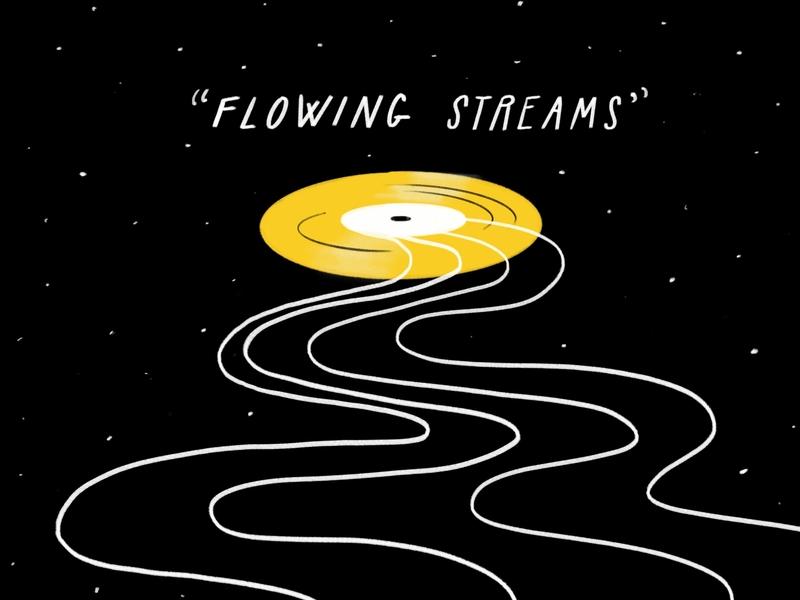 Voyager and The Golden Record future nasa record space voyager interstellar carl sagan golden record sketch doodle illo illustration