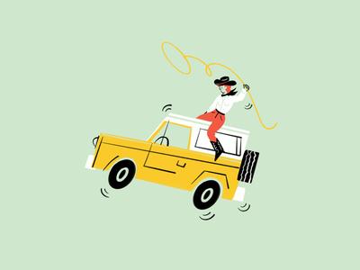 retro car! 🐎🤠🚗 〰️